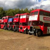 Surface de vente The London Bus Export Company