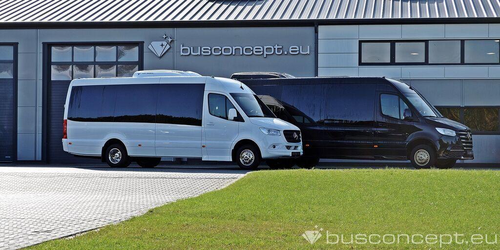 fourgonnette de tourisme MERCEDES-BENZ Sprinter 519 19+1+1 GCC Spec - Special for Hot areas neuve