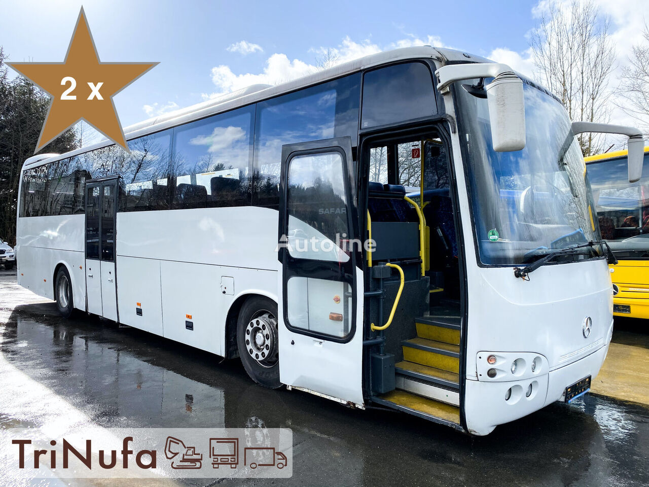 bus interurbain MERCEDES-BENZ 18.36 Safari | Euro 4 | Klima | Retarder | WC |