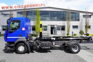 camion ampliroll RENAULT D12-210, E6, 60.000km , NEW HOOK HYVA 7-40-S , retarder , AC