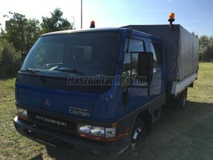 camion bâché MITSUBISHI CANTER DOKA P+P 4m-es platóval