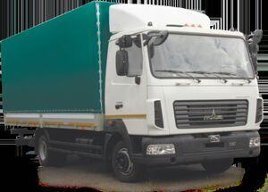 camion bâché MAZ 437121-521-000 neuf