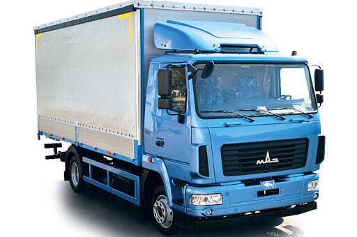 camion bâché MAZ 4371C0 neuf