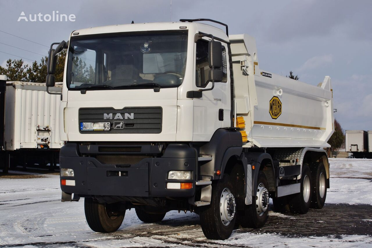 camion benne MAN TGA 41.440 8X6 MEILLER KIPPER S1 MANUAL 2007