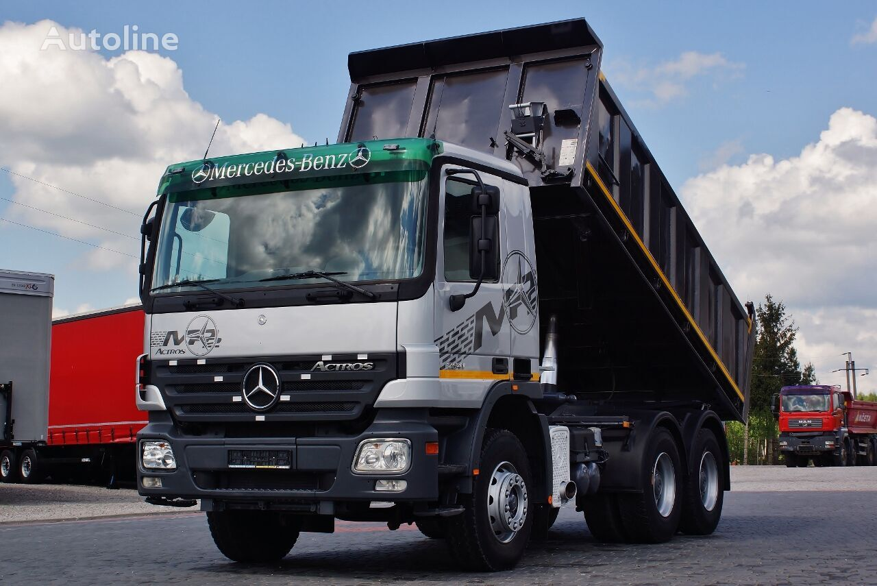 camion benne MERCEDES-BENZ ACTROS 26410 6X4 3 SIDE KIPPER EPS / GERMAN TRUCK TOP_ZUSTAND !