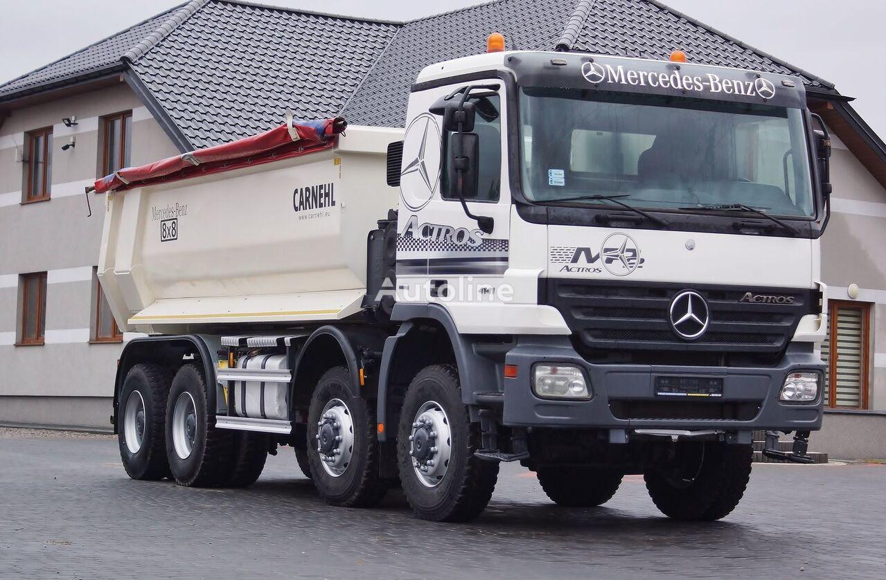 camion benne MERCEDES-BENZ ACTROS 4141