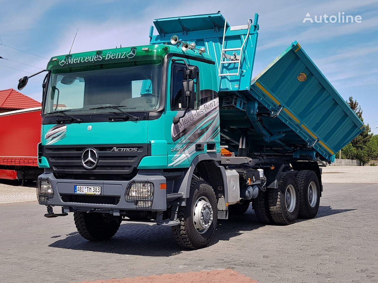 camion-benne MERCEDES-BENZ Actros MP2 3341 6X6 BORDMATIC EPS 2007