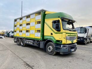 camion bétaillère RENAULT PREMIUM 460 endommagé
