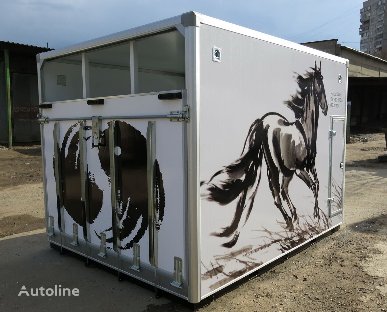 camion chevaux ISTOK neuf