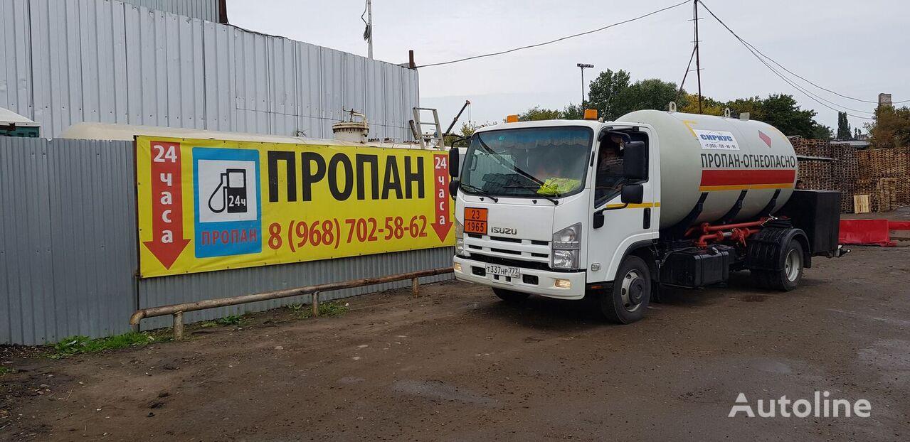 camion de gaz ISUZU