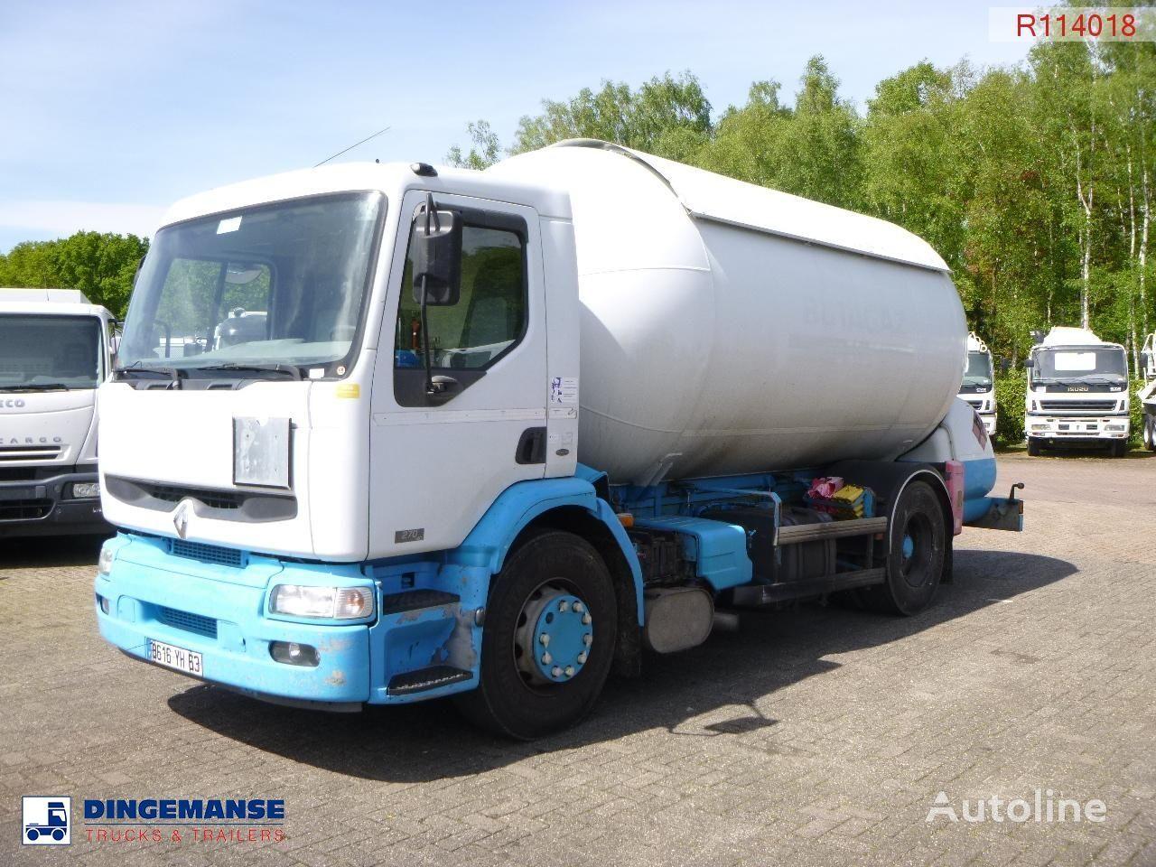 camion de gaz RENAULT Premium 270.19 4x2 gas tank 19.7 m3
