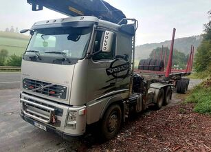 camion forestier VOLVO FH12 540