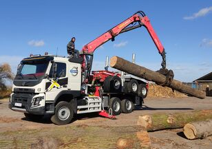 camion forestier VOLVO FMX 540 6X4 FAYMONVILLE PALFINGER EPSILON