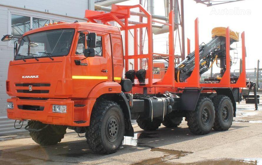 camion forestier KAMAZ sortimentovoz 658610 neuf