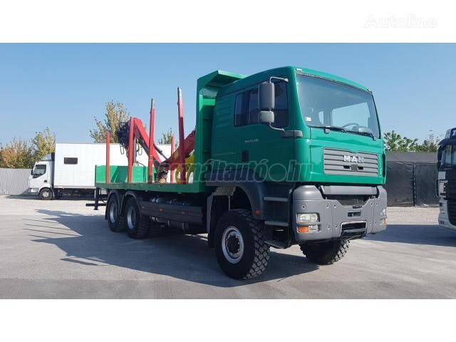 camion forestier MAN TGA 26.410