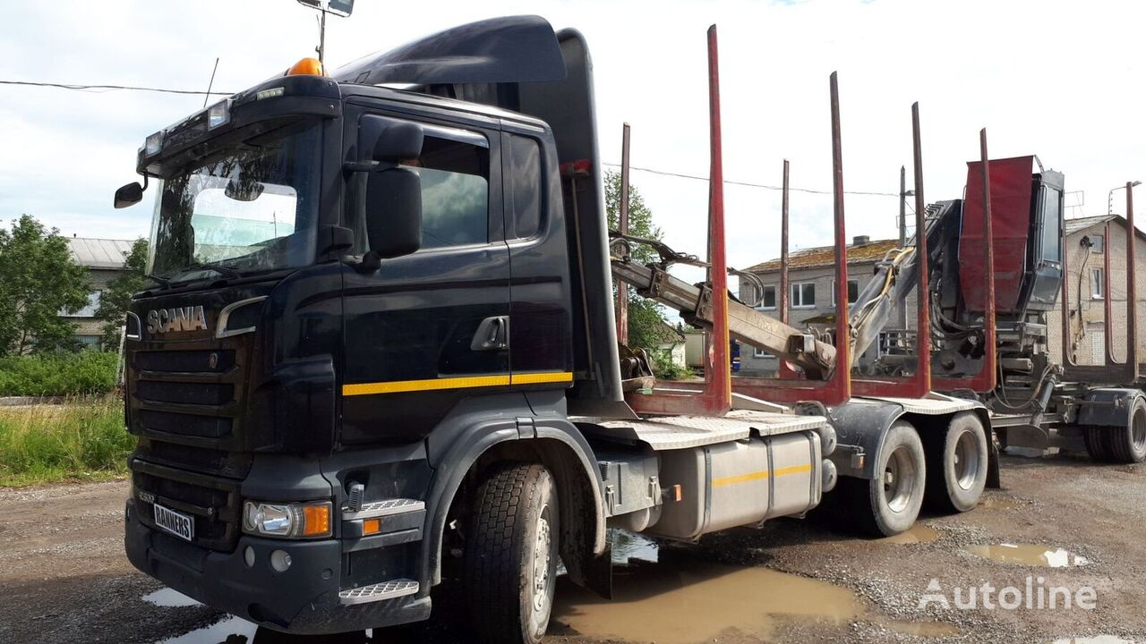 camion forestier SCANIA R500