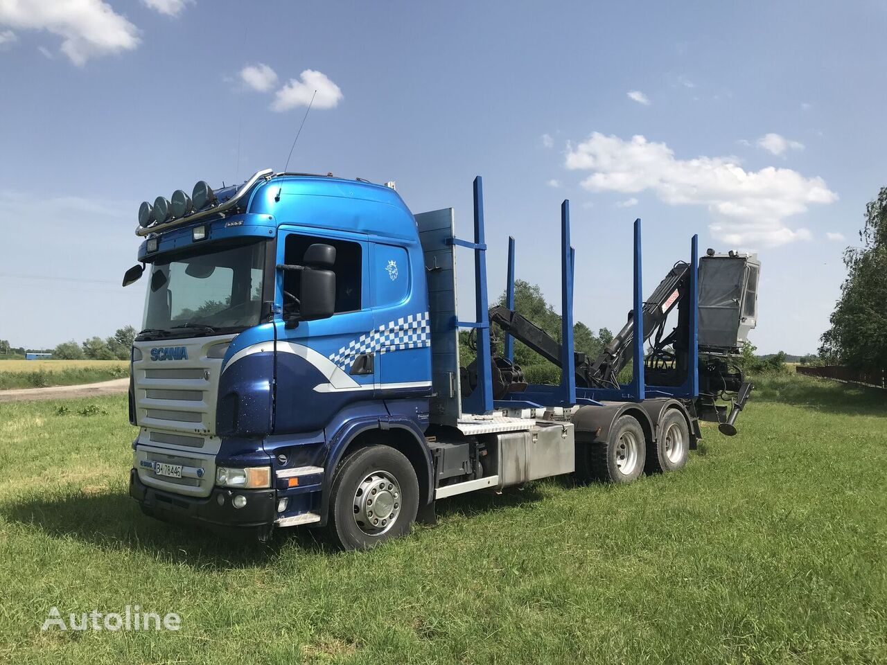 camion forestier SCANIA R560