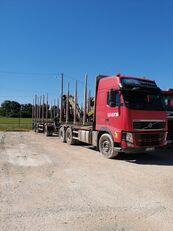 camion forestier VOLVO FH + remorque forestière