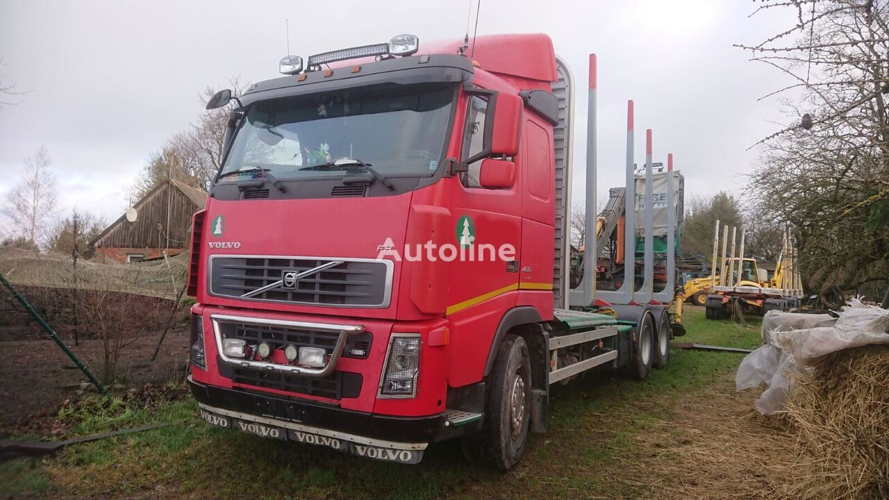 camion forestier VOLVO FH 13.480