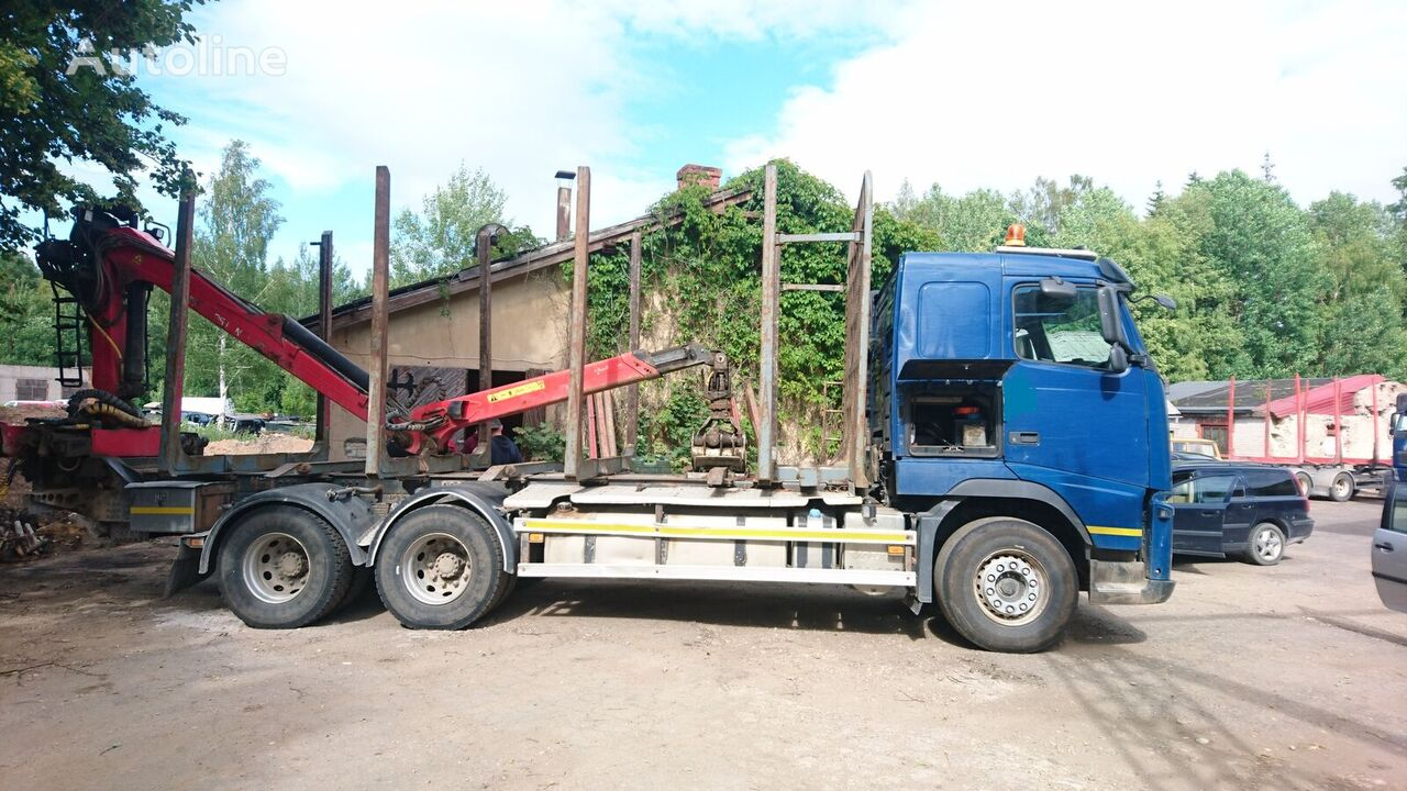 camion forestier VOLVO FH460