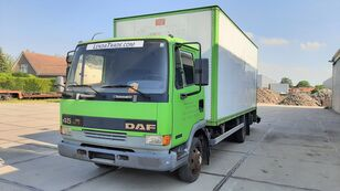 camion fourgon DAF 45.130 Ti 6 Cylinders Euro 2 Spring-Spring