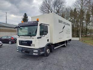 camion fourgon MAN TGL 8.180 taillift/hayon - euro 5 - very good tyres
