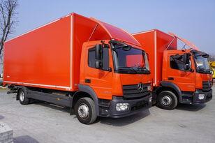 camion fourgon MERCEDES-BENZ Atego 1224, E6, 4x2, 7.10 m container, retarder, 3-person cabin