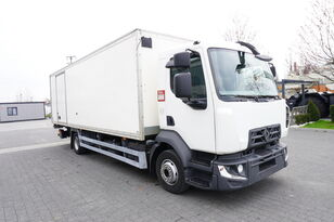 camion fourgon RENAULT D12 , E6 , 4x2 , Box 18 EPAL side door  , tail lift Dhollandia