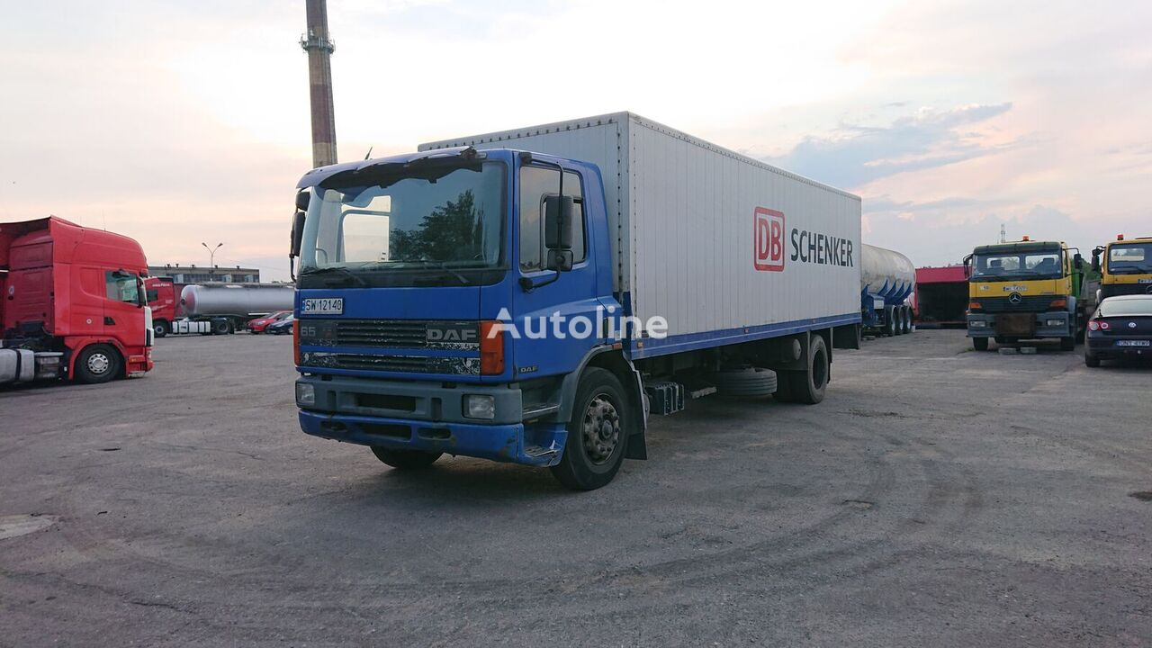camion isotherme DAF 65 Ati