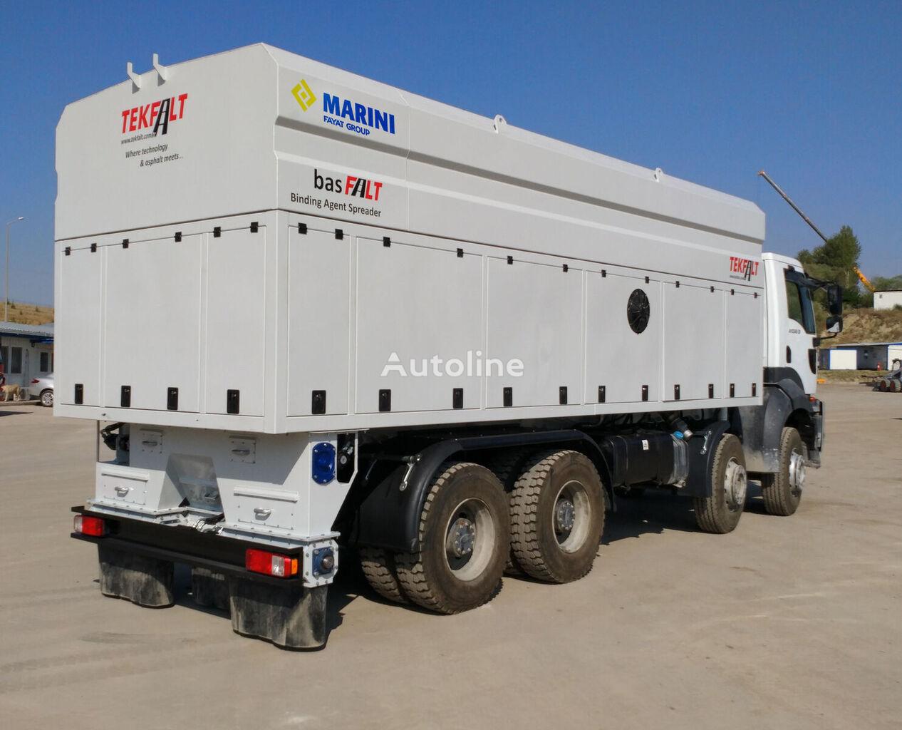 camion militaire TEKFALT basFALT Binding Agent Spreader neuf
