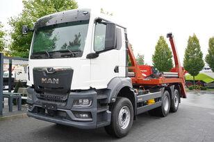 camion multibenne MAN MAN TGS 26.430 6x2-4 LL CH / Gate HYVA 18 tons / EURO 6D / FACTO