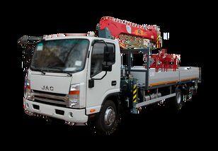 camion plateau JAC Бортовой автомобиль с КМУ FG-414 neuf