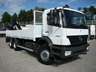 camion plateau MERCEDES-BENZ Axor 2633 6x4 Darus