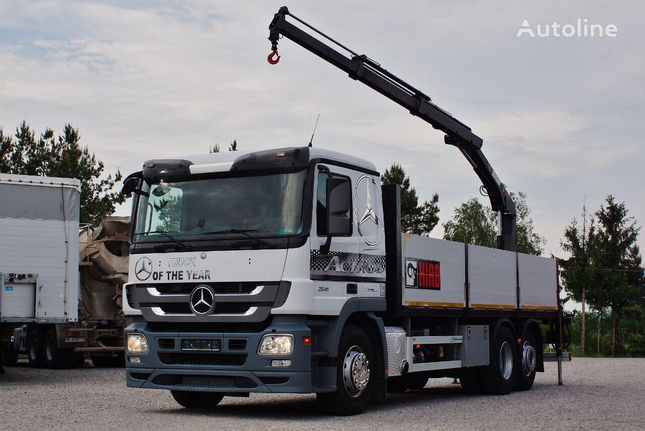 camion plateau MERCEDES-BENZ ACTROS 2541 MP3