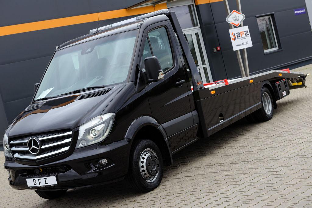 vente des camion porte voiture mercedes benz sprinter 519 cdi neuf camion transport voiture de. Black Bedroom Furniture Sets. Home Design Ideas