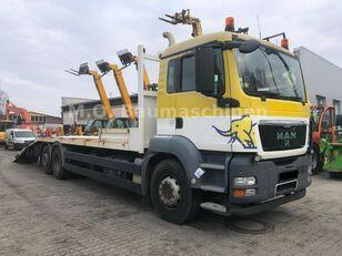 camion porte-voitures MAN TGS 26.360 6x2 Járműszállító Csörlővel és Rámpával