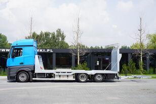 camion porte-voitures MERCEDES-BENZ Actros 2542 , E6 , MEGA , NEW BODY , car tow 10T , hydraulic ram