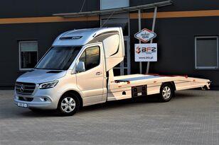 camion porte-voitures MERCEDES-BENZ Mercedes-Benz Sprinter 319 V6 LUFTFEDERUNG AB WERK Schlafkabine neuf