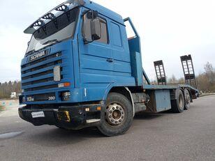 camion porte-voitures SCANIA 113