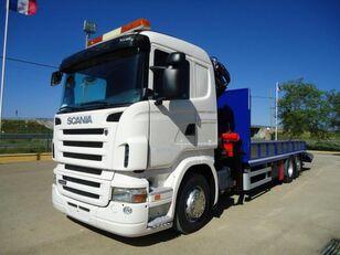 camion porte-voitures SCANIA R 440