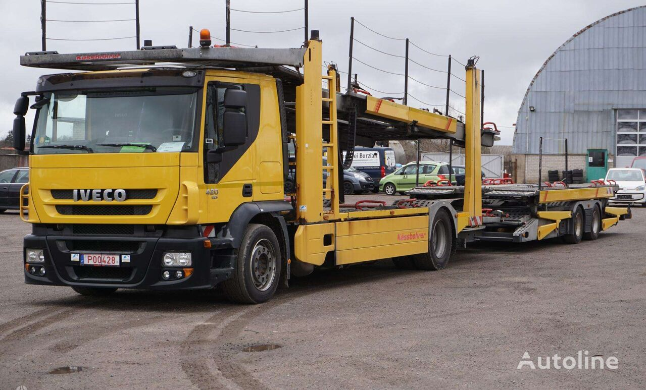 camion porte-voitures IVECO stralis
