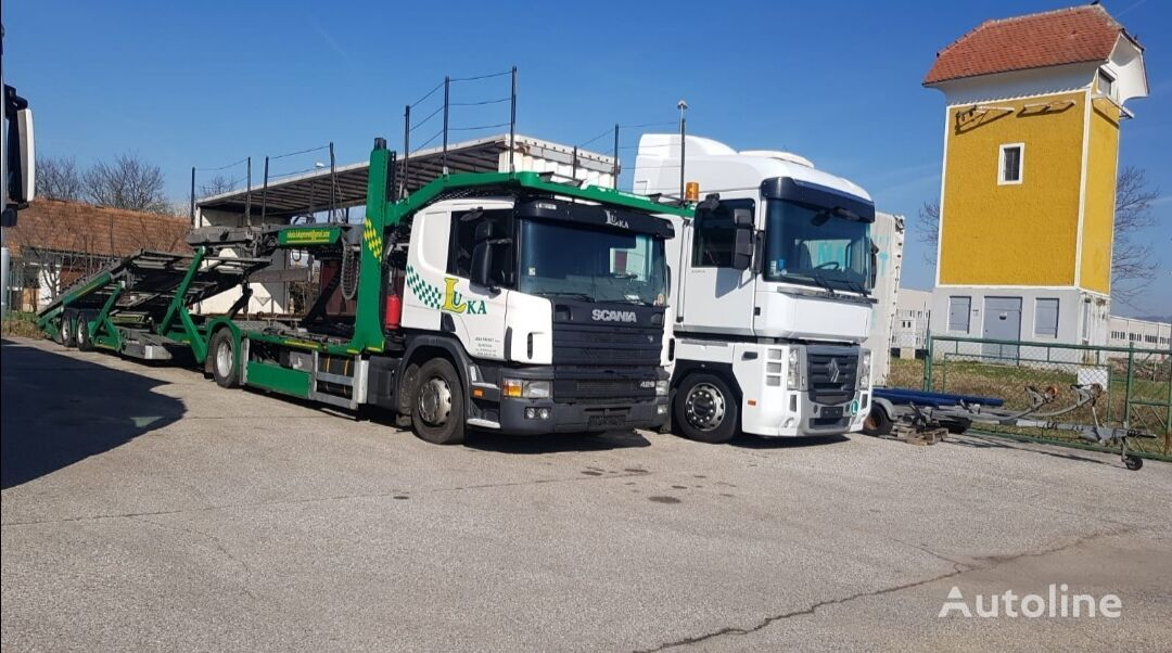 camion porte-voitures SCANIA 420