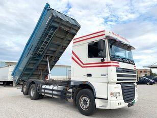 camion pour transport de céréales DAF FAR XF105/ 3-Seiten GETREIDEKIPPER ''NEUE KUPPLUNG'' VOLLLUFTFED