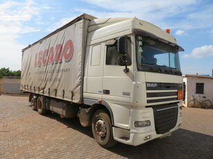 camion rideaux coulissants DAF 105.460 Rigid Truck With Dolly