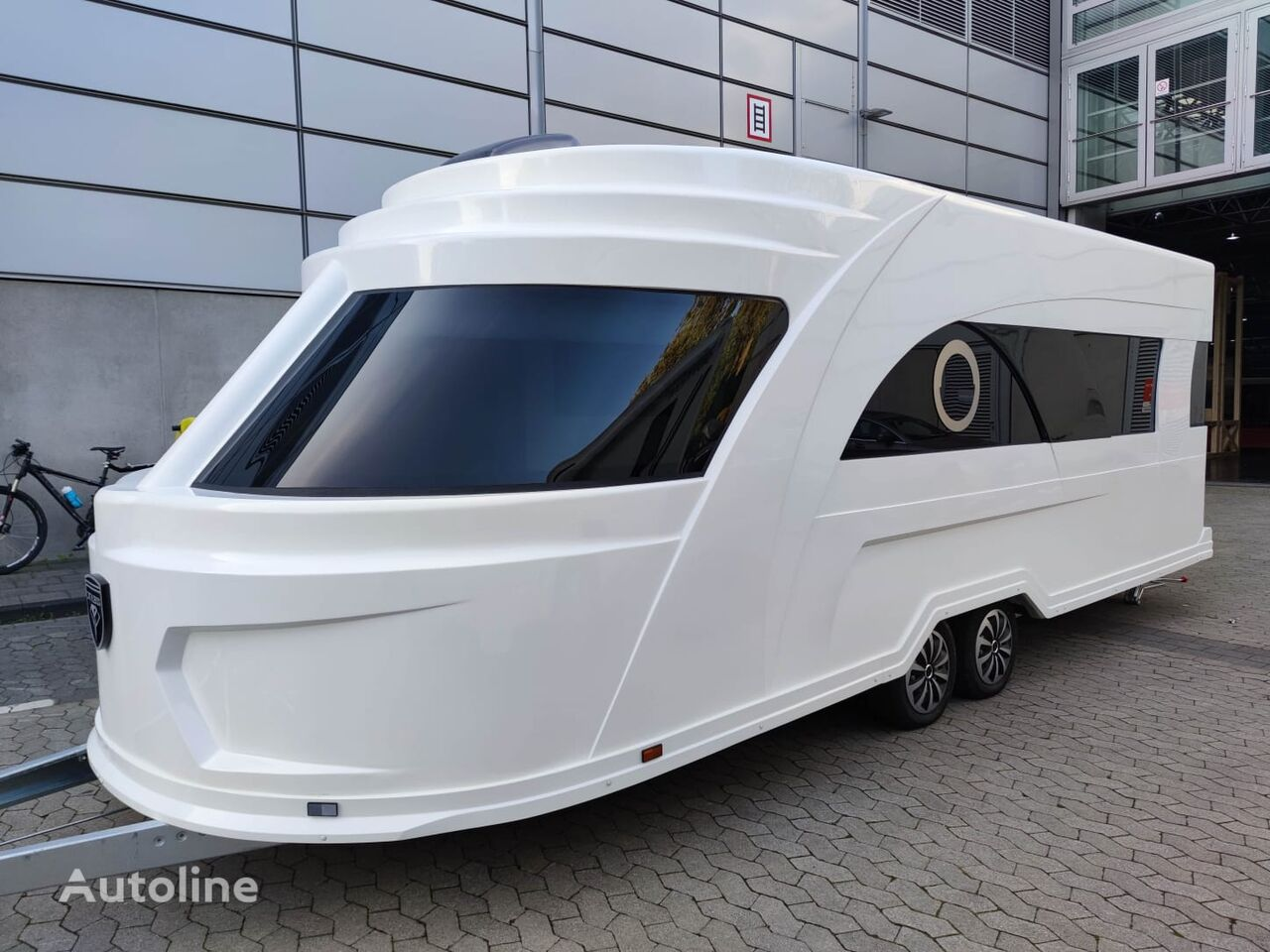 caravane  Derubis DERUBIS Series 7 / Monocoque / Wohnwagen wie eine Yacht neuve