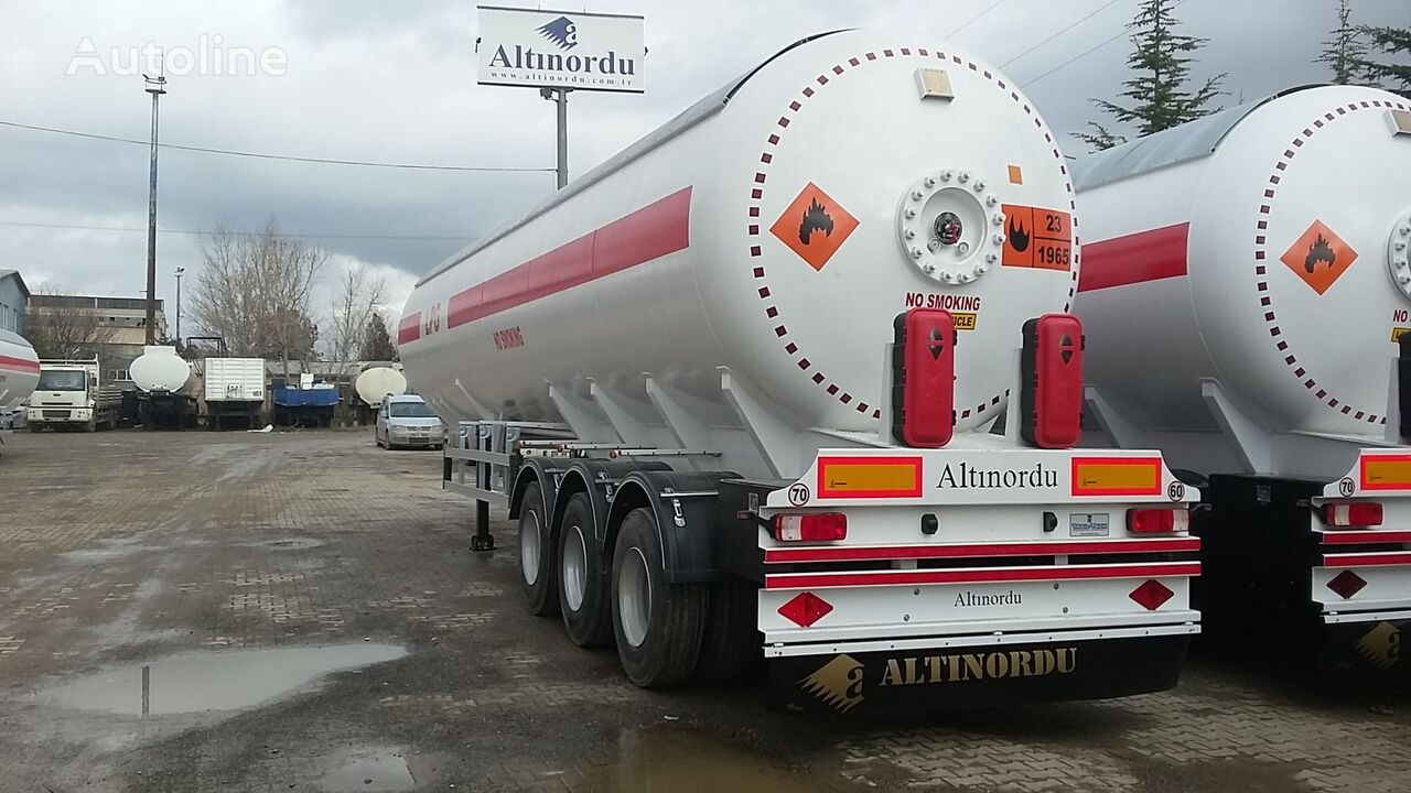citerne de gaz ALTINORDU PRODUCER SINCE 1972, 3 AXLE 60 M3 , 12 TYESR LPG TRANSPORT TANK neuve