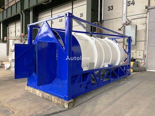 conteneur citerne 20 pieds GAS, Cryogenic tank,  Oxygen, Argon, Nitrogen, LIN, LAR, LOX, IM