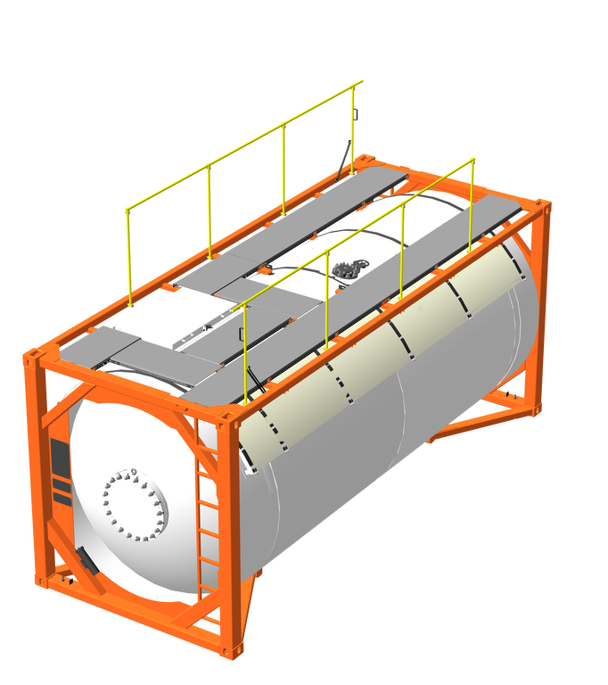 conteneur citerne 20 pieds T50-245 / T50-245.1 neuf