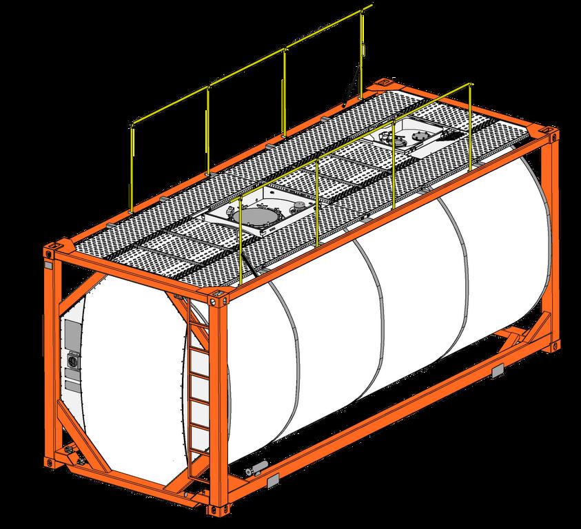 conteneur citerne 20 pieds T14-254 neuf