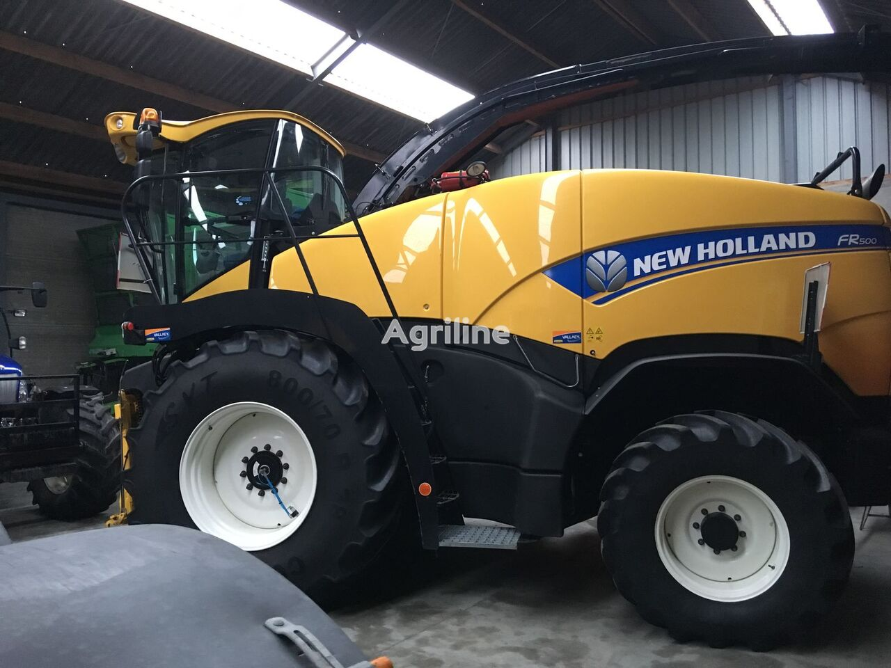ensileuse automotrice NEW HOLLAND FR500